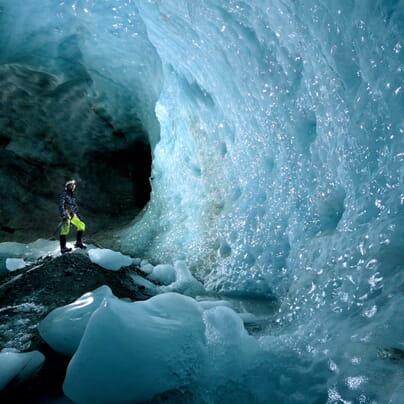 Robbie Shone Ice Caves