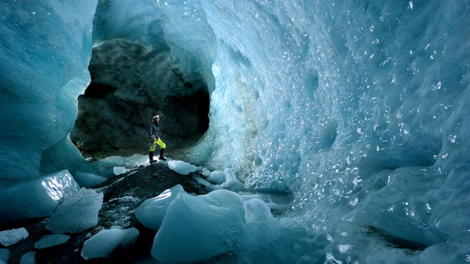 ice cold exploration robbie shone explores the ice caves in france
