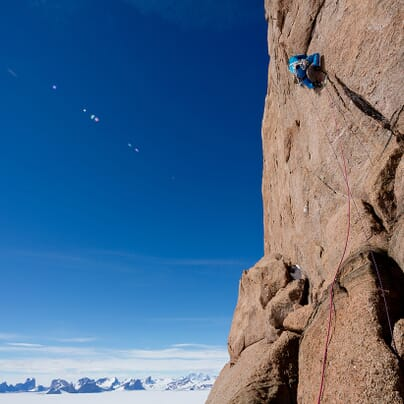 The Last Great Climb - Photo by Alastair Lee