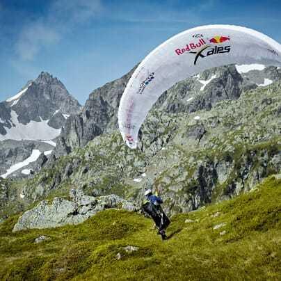 Red Bull X-Alps Paragliding