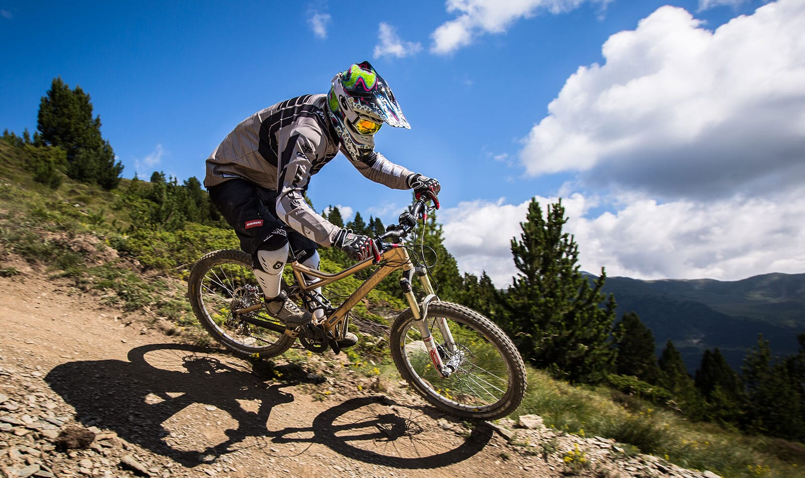 Manuel Bustelo Moutain Biking in Andorra