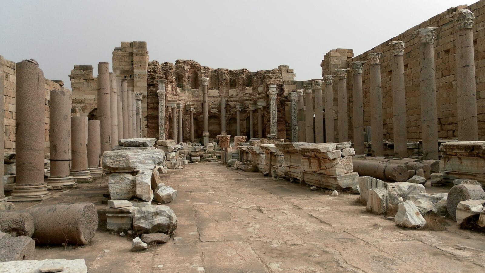 A Journey Through Libya - Harry Cox