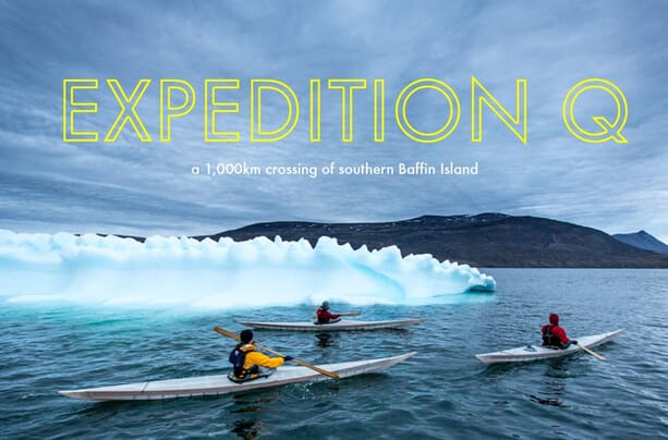 Expedition Q | Kayaking Baffin Island