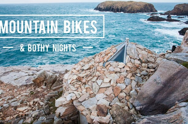 Mountain Bikes and Bothy Nights