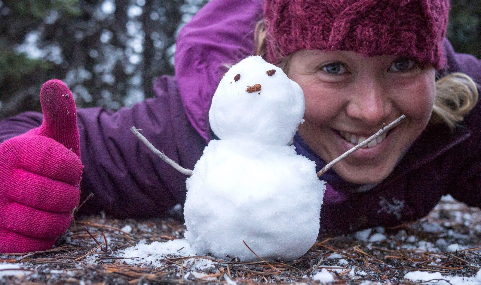 Megamoon snowman