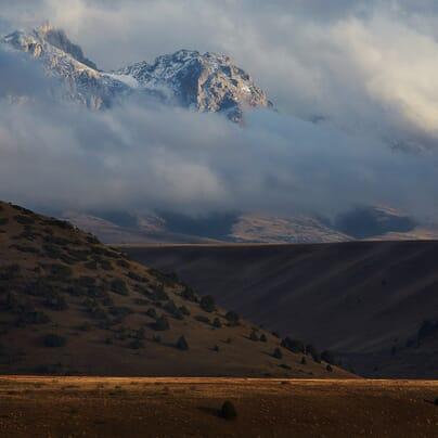 Mountain Biking the Talas Range, Kyrgyzstan – Photo: Toby Maudsley