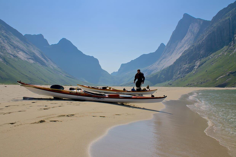 Planning an Arctic sea kayaking expedition