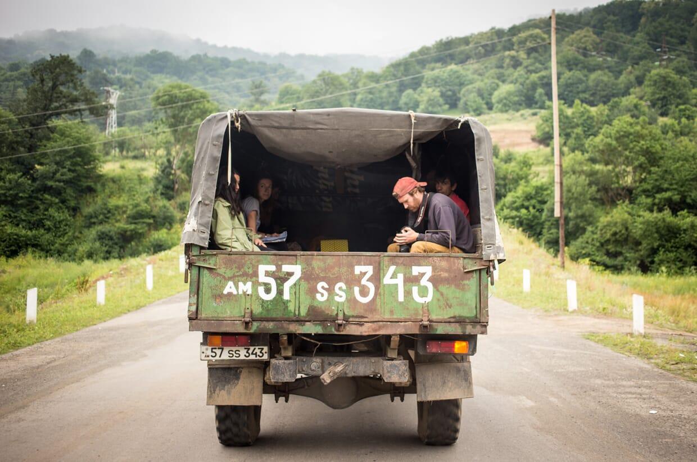 Making the Transcaucasian Trail