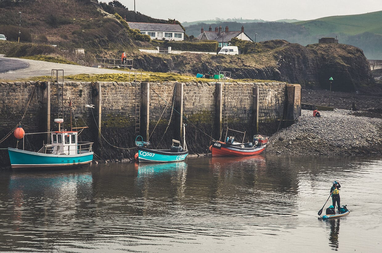 Sup Against Sup: The Welsh Coast